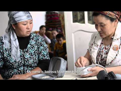 Volunteering for better health in Kyrgyzstan