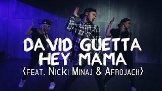David Guetta feat. Nicki Minaj & Afrojack - Hey Mama | @KolyaBarni Choreography