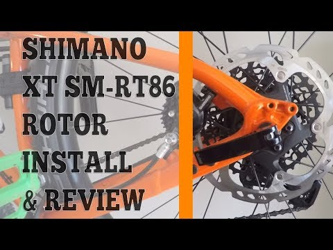 "NEW Shimano XT SM-RT86S2 IceTech 160mm//6/"" 6 Bolt Disc Brake MTB Bike Rotor 1"
