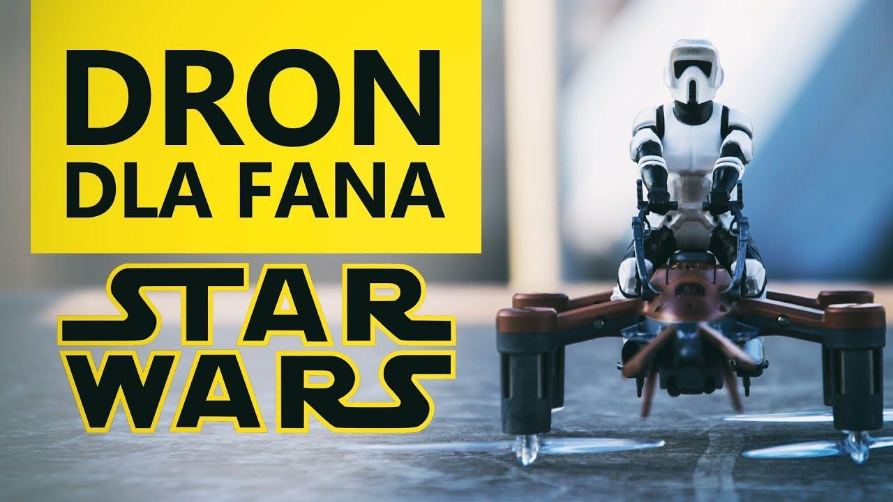 Najlepszy Dron dla fana Star Wars? TEST Z74 SPEEDER BIKE!