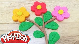 Play-Doh How to Make Flowers Playset - Fun and Creative For Kids