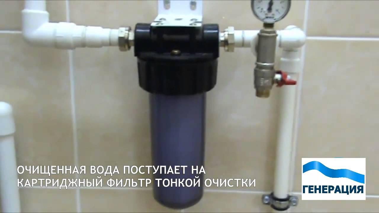 Лучший фильтр для очистки воды в домашних условиях