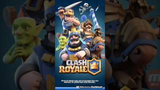 my first Gameplay of Clash RoyaleOPENING of CHESTS of Crowns!