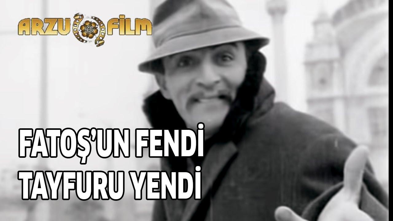 Fatoş'un Fendi Tayfur'u Yendi | Öztürk Serengil & Fatma Girik - Siyah Beyaz Filmler