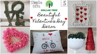 DOLLAR TREE | DIY | VALENTINE'S DAY DECOR 2019!!!