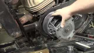polaris trailblazer 250 primary clutch removal