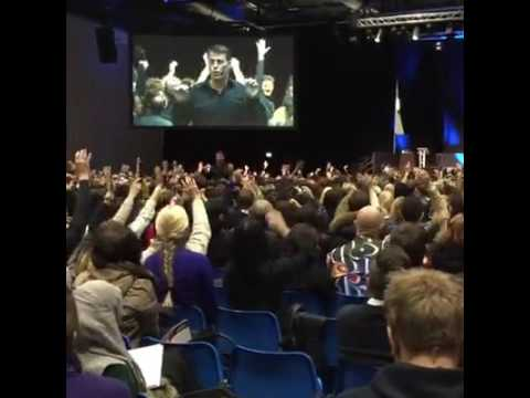 Tony Robbins October 2016, ExCeL London Exhibition and Convention Centre