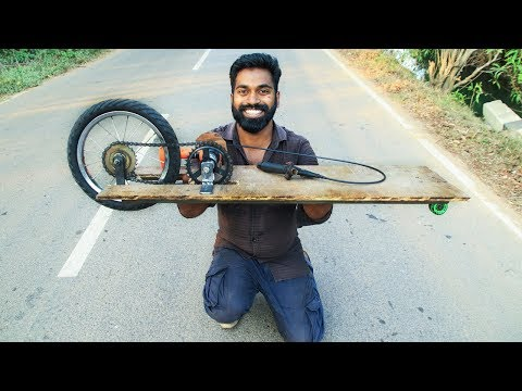 How to Make a Electric Skating Board  | M4 Tech |