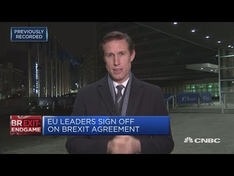 Convinced this is the only Brexit deal possible, says EU's Juncker | Squawk Box Europe