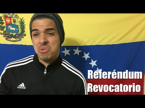Referéndum Revocatorio Venezuela 2016 - Proceso