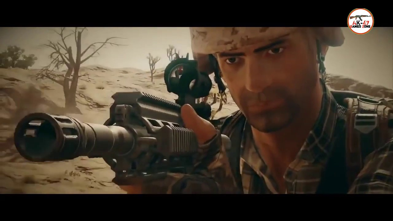 PUBG Movie Animation Real 3D From MIRAMAR PlayerUnknown's Battlegrounds  Ak47 games