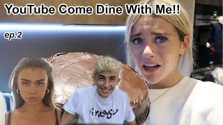 youtuber come dine with me ft flossie & lookingforlewys