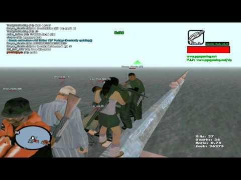 GTA San Andreas Server Cap.1 - Server Zombies