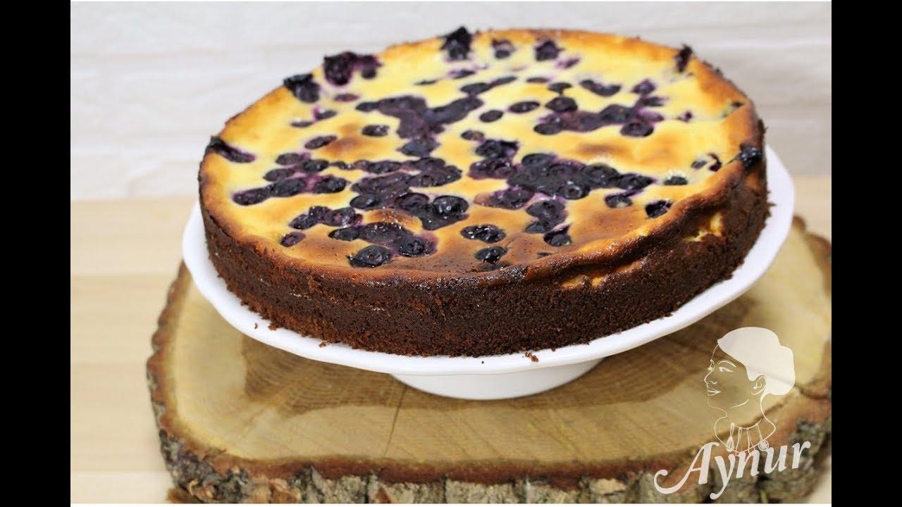 Blaubeerkuchen Mit Pudding