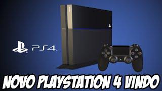 Novo Playstation 4 vindo em breve