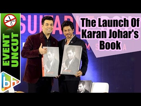 Shah Rukh Khan At The Launch Of Karan Johar's Book An Unsuitable Boy   EVENT UNCUT