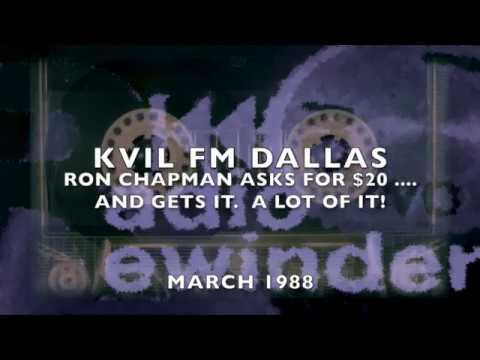 KVIL Dallas Ron Chapman Money 1988