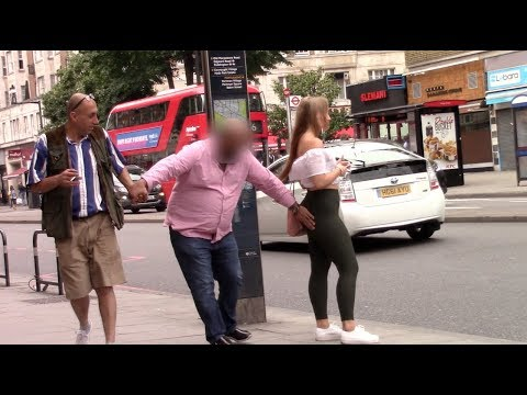GIRL STANDS ON LONDON STREET FOR 1 HOUR!