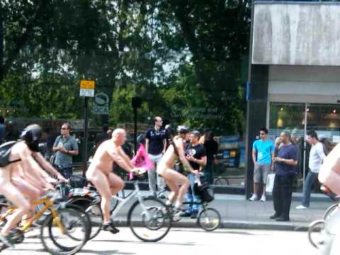 London Naked Bike Ride 2009