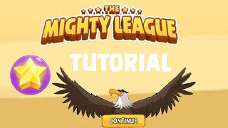 Angry Birds The Mighty League - Tutorial lvl 1-3