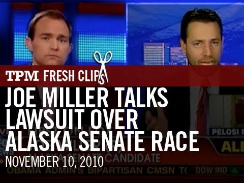 Joe Miller Talks Lawsuit Over Alaska Senate Race