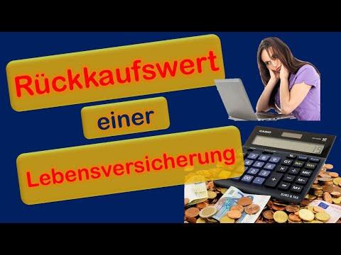Rückkaufswert einer Lebensversicherung - Finanz Coach Vieregge