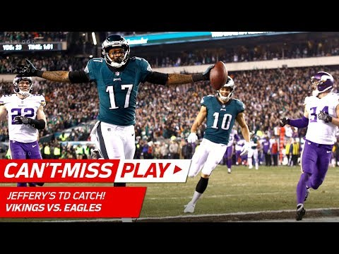 Barnett's Strip Sack Sets Up to Foles' 53-Yd TD Strike! | Can't-Miss Play | NFC Championship HLs