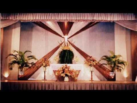 Escenarios dise ados con telas colqui youtube - Telas para decorar ...