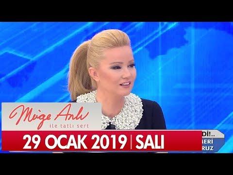 Müge Anlı Ile Tatlı Sert 29 Ocak 2019 Salı - Tek Parça