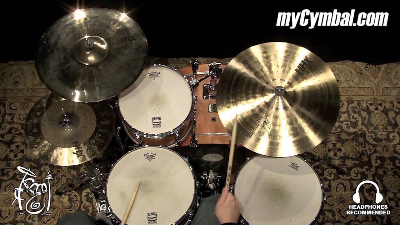 sabian 20 hhx manhattan jazz ride cymbal 12085xn 1123014vv youtube. Black Bedroom Furniture Sets. Home Design Ideas