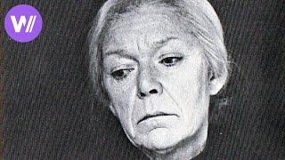 Käthe Kollwitz - Portrait of the German artist of expressionism