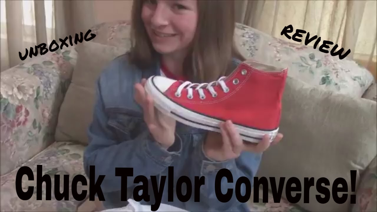 9b9146dead0f4a Red High Top Converse