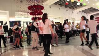 Танцевальный флешмоб против насилия - Варна, Grand Mall, 14.02.2014