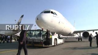 Iran: First new Airbus plane lands in Tehran following lifting of sanctions