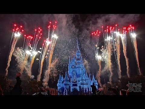 Holiday Wishes 2014 Fireworks Show Celebrate the Spirit of the Season during Mickeys Christmas