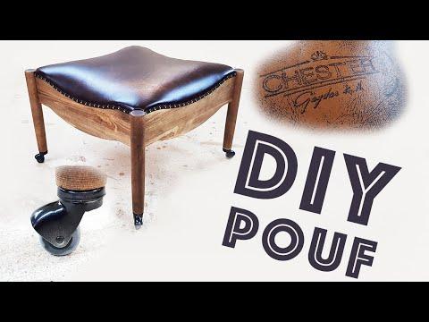 ПУФ своими руками DIY мебель для дома