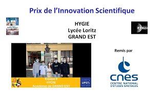 OSI 2021 - Remise des prix - Prix de l'innovation scientifique