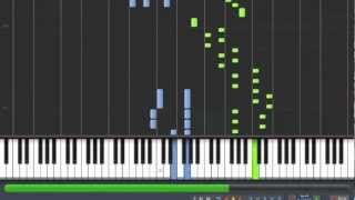 [How to Play] Mozart - Piano Sonata 10 - KV 330 - 1st Movement [Synthesia Piano Tutorial]