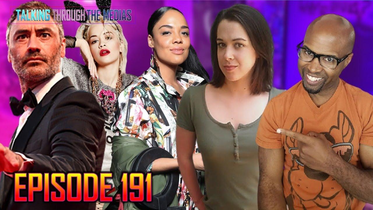 Tessa Thompson, Taika Waititi, & Rita Ora's Preparing for Thor 4 Ep #191