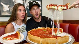 THE NIGHT SHIFT: we tried chicago deep dish pizza