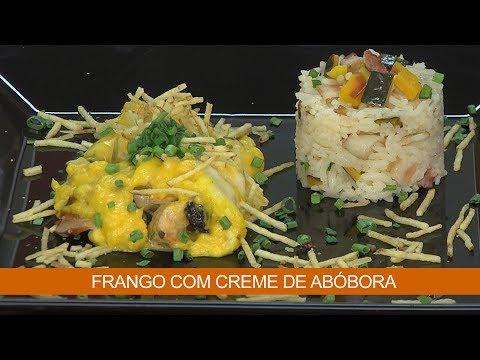 FRANGO COM CREME DE ABÓBORA