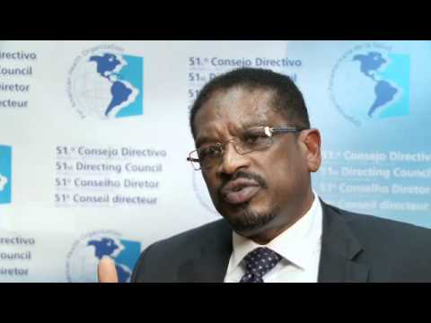 Dr. Hubert Minnis, Health Minister, Bahamas