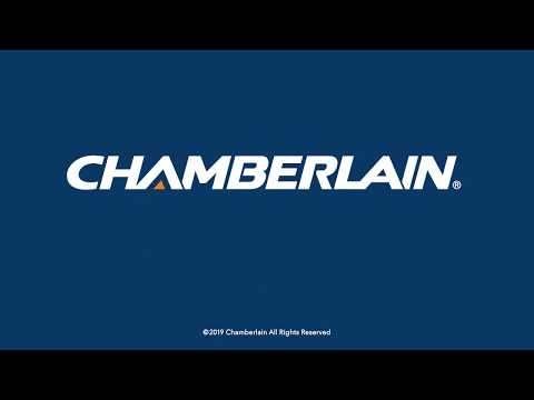 How To Program Chamberlain S 950cb And 953cb Remote Controls To A Garage Door Opener Youtube