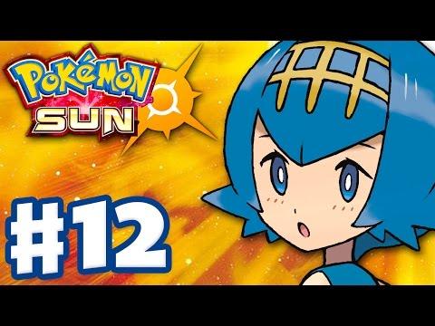 Pokemon Sun and Moon - Gameplay Walkthrough Part 12 - Lana's Island Trial! (Nintendo 3DS)