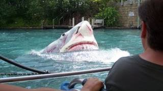Jaws! Universal Studios Florida Front Row HD