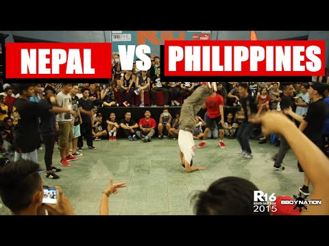 Nepal vs Philippines   Battle for Top 4   Crew Battle   R16 South East Asia 2015   Bboynation