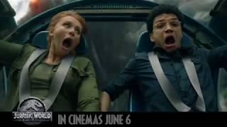 Book your tickets now! #JurassicWorld #FallenKingdom