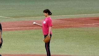 17/5/20 スワローズ/高島礼子始球式
