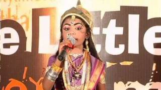 GVK One- Kid perfoms as Rani Lakshmi Bai