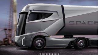 Class 8 Electric Semi  for Tesla?